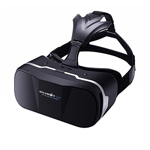 3D VR Brille - BlitzWolf 3D Virtual Reality Headset Brille VR Cardboard Box für Samsung, LG, SONY,...