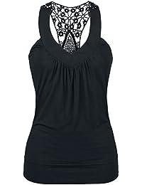 Laced Racerback Girl-Top schwarz Fashion Victim Spielraum Bilder Die Günstigste Zum Verkauf Einkaufen Gut Verkaufen Online PCUAd2H