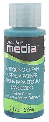 DecoArt Media Antike Creme, Patina grün
