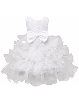 Vestito da Neonata,Kword Bambini Bambino Ragazze Fiore Birthday Nozze Damigella D'Onore Corteo Principessa Abito...