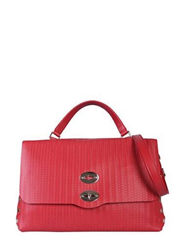 Bolso Rojo Zanellato Mujer 61346073 De Cuero Mano E2DH9IW