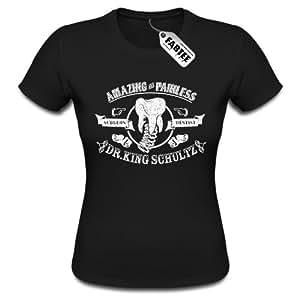 FABTEE - Dr King Schultz Django Unchained T-Shirt Frauen - Größen S-2XL