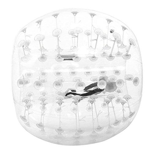 0,8m humanos aldaba bola, 3way sistema de seguridad hinchable Bumper Parachoques, balón de fútbol, hámster humanos balones de burbujas, burbujas, Zorbing llamador de bola, bola, bola de Loopy, transparente