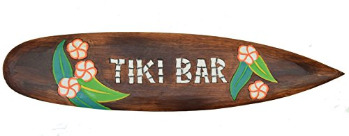 Tiki-Bar-Tabla-de-Surf-100-cm-Hawaii-Decoracin-colgar-Maui-kaui-40263-Surf