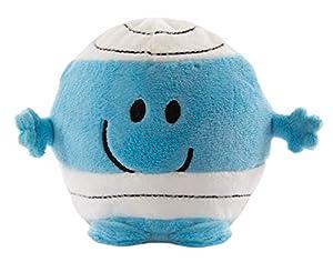 Mr Men Little Miss 1035 Mr Bump Easy Squeezie - Peluche de Espuma viscoelástica, Color Azul, Blanco