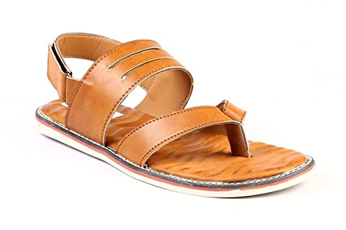 leather Park Sandals Tan 9 M