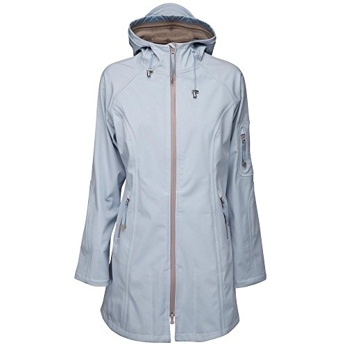 Ilse Jacobsen Handmaiden Raincoat 3/4 Faience Atmosphere