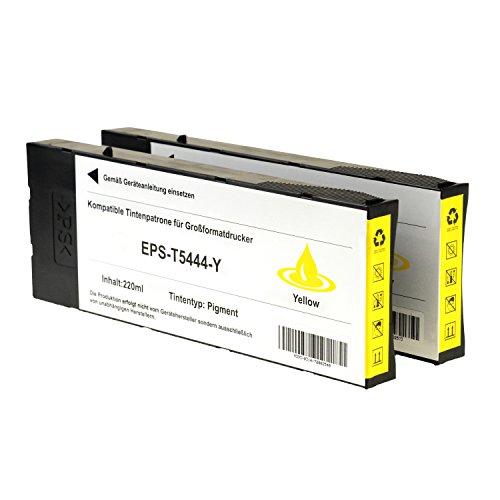 Preisvergleich Produktbild 2 Tintenpatronen für Epson Color Proofer 7600 9600 Stylus Pro 4000 C4 C8 PS PRO 7600 9600 C13T544400 Yellow
