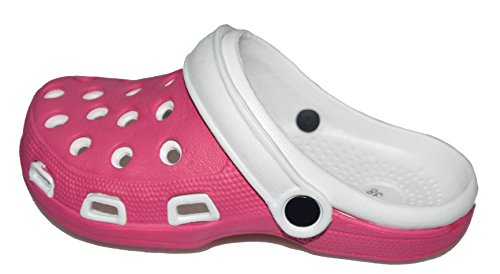 BTS, Zoccoli donna Multicolore (Pink/ Weiß)