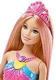 Barbie  Bambola Sirena Magico Arcobaleno, DHC40