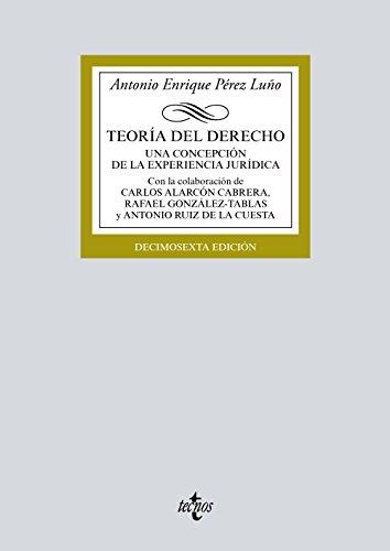 Descargar TEORIA DEL DERECHO: UNA CONCEPCION DE LA EXPERIENCIA JURIDICA (16 ª ED )