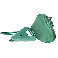 activera 307706-gr - Horquilla para armas de caza, color verde