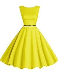 suchergebnis auf f r gelb kleider damen. Black Bedroom Furniture Sets. Home Design Ideas