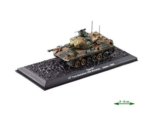 Panzer Type 61 Japan 1993 Die-Cast, Panzermodell Mst1:73, für die Vitrine Panzer