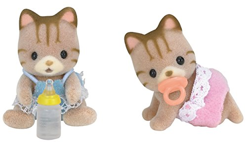 sylvanian-families-striped-cat-twins