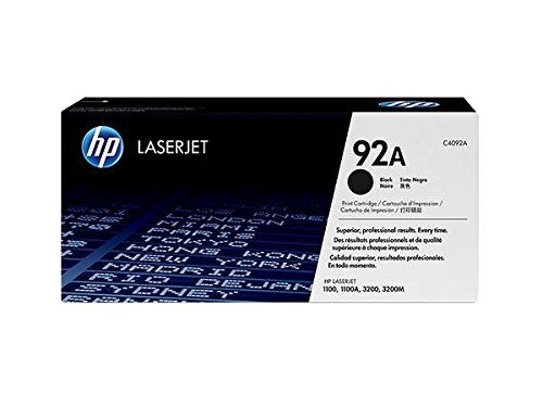 HP Toner 92A für Laserdrucker (2500Seiten, Laser, HP, 10-32.5°C, 10-90%,-20-40°C)