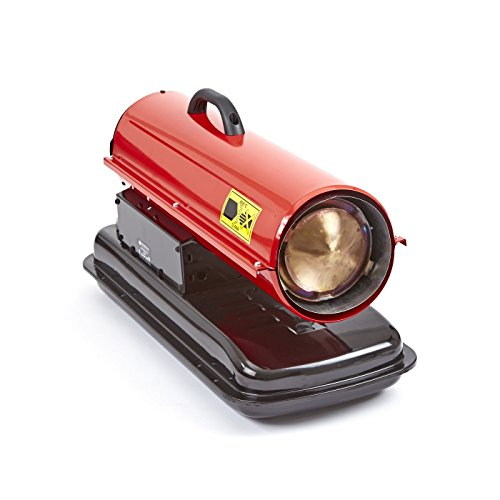 Trueshopping 51,000BTU INDUSTRIAL GARAGE WORKSHOP DIESEL PARAFFIN SPACE HEATER WARMER 15KW