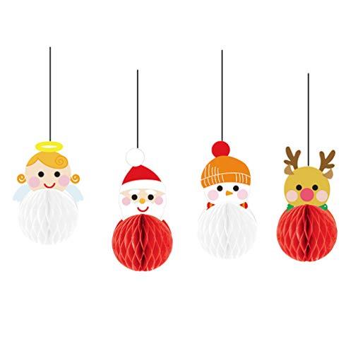 Weihnachtsbaum Weihnachtsstrumpf Schneemann knowing 50 St/ücke Weihnachtsanh/änger Tannenschmuck,DIY Weihnachtsdekoration Holz Scheiben Scheiben Holz Elch Schneeflocke