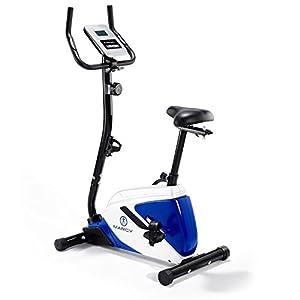 41cfYVH0XeL. SS300  - Marcy Azure BK1016 Upright Exercise Bike - Black/White/Blue, One Size