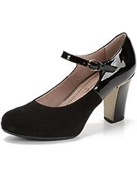 Pitillos 1782, Zapato pulsera de mujer de tacón alto