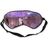 Eye Mask Eyeshade Astronaut On The Planet Sleeping Mask Blindfold Eyepatch Adjustable Head Strap preisvergleich bei billige-tabletten.eu
