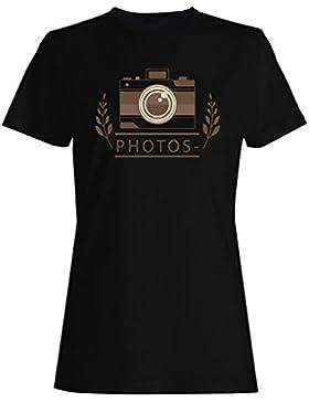 Nuevos Logotipos Dibujados A Mano camiseta de las mujeres h387f