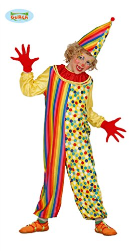Clown Kostüm für Kinder Clownkostüm Clownskostüm Joker GR. 98 - 146, ()