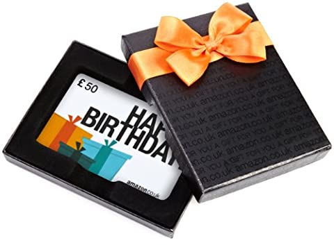 Amazon.co.uk Gift Card - In a Gift Box - £50 (Happy Birthday)