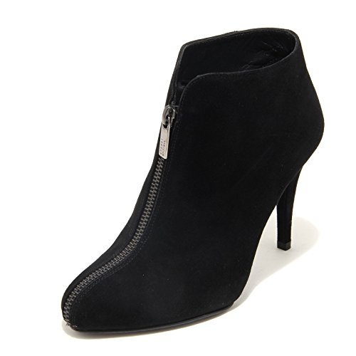 4182L tronchetti donna STUART WEITZMAN zipbigzipper scarpe ankle boots women Nero