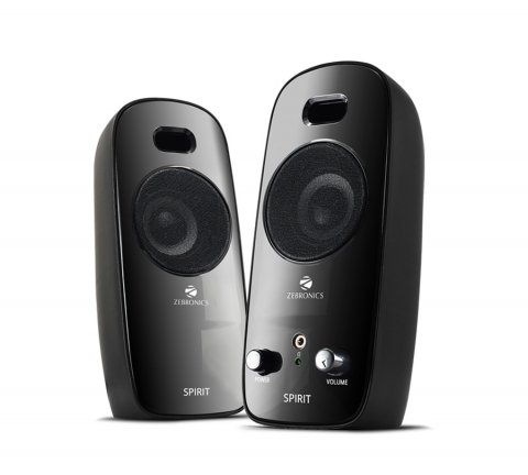 Zebronics Spirit 2.0 Channel Multimedia Speakers