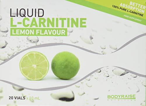 Bodyraise L-Carnitina Liquida al Limone 20 fiale