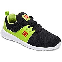 Zapatos niño DC Heathrow SE - Glow In The Dark Negro-verde
