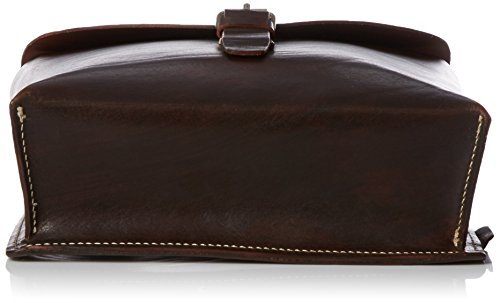 Jost  Manfaktur Messenger Bag Medium 2992, Organiseur de sac mixte adulte Marron - Cognac