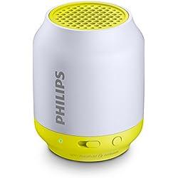 Philips BT50L Mini Enceinte Bluetooth portable avec entrée audio, batterie rechargeable rapidement, Vert
