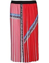 89502838c5 Pinko Women's 1G13YVY57MRZE Red Polyamide Skirt