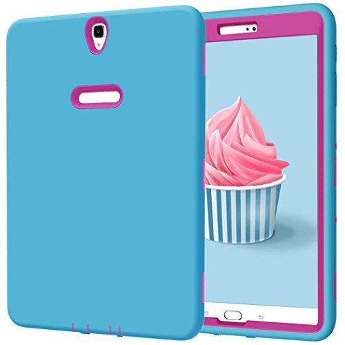 Ounice Samsung Galaxy Tab Schutzhülle Cover, stoßfest Fall Robuste Kunststoff Armor Schutzschale für Samsung Galaxy Tab S324,6cm, h, 7inch (Zoll S3 Tablet Samsung 7)
