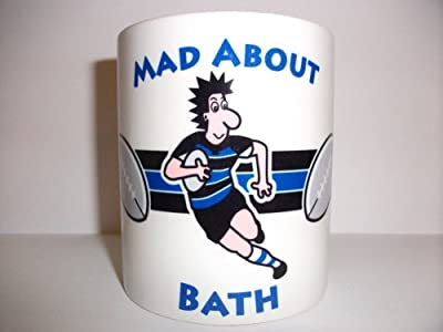 Bath Rugby Player Mug