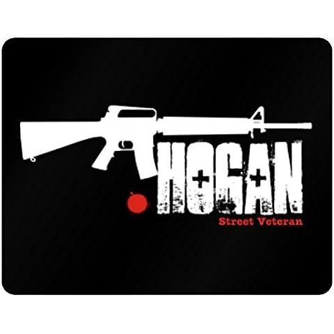 Teeburon Hogan Street Veteran Horizontal Sign