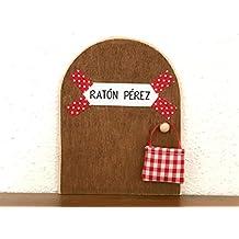 La auténtica puerta mágica del Ratoncito Pérez ♥ De regalo una preciosa bolsita de tela para