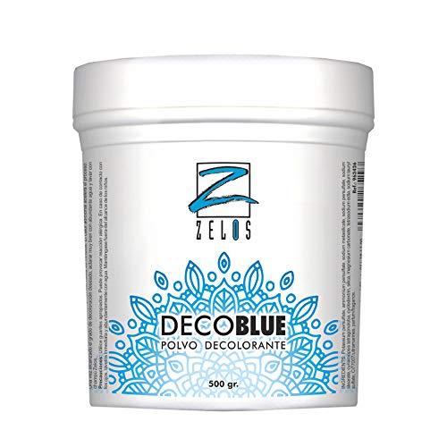 Polvo Decolorante Azul - 500gr - Cabellos Grises Blancos