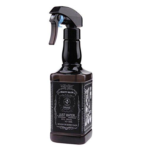 Demiawaking 500ml Bottigliette Spray Vuote per Capelli Spruzzino Nebulizzatore Parrucchiere Bottiglie Riutilizzabile per Parrucchiere Barbiere