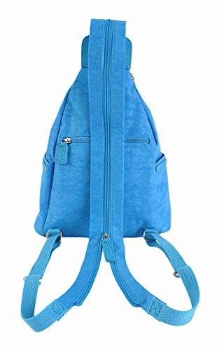 Spirit , Sac à main porté au dos pour femme Bleu - Azzurro Cielo