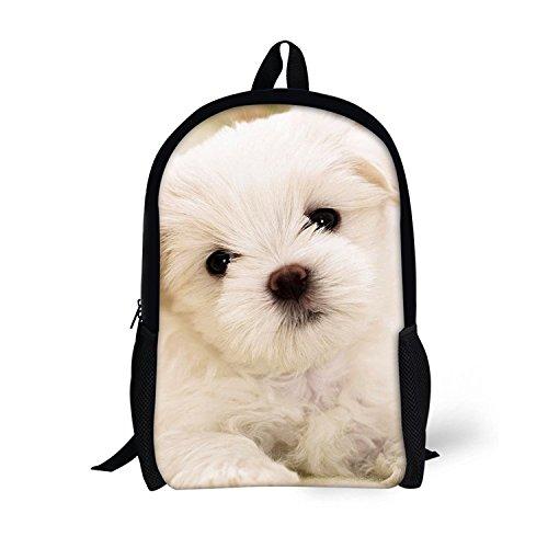 Imagen de tuoking 3d patrones de perros blancos niños de viaje excursionismo  traje para niños y niñas