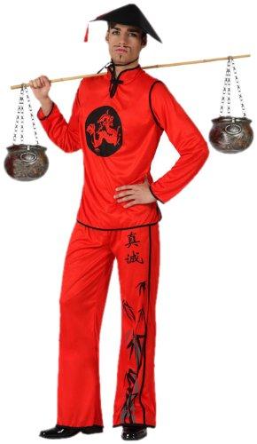 Imagen de atosa  disfraz de chino para hombre, talla xl 15282