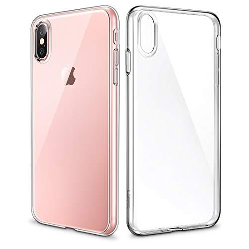 Schütze Dein iPhone, Essential Zero Series 0.8mm ultradünner stoßfest weicher TPU-Kasten für iPhone X. Für iPhone Handy. (Großauswahl : Ipxg0234t)