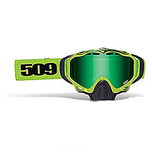 509 Sinister X5 Lime Green Mirror Yellow Tint Lens