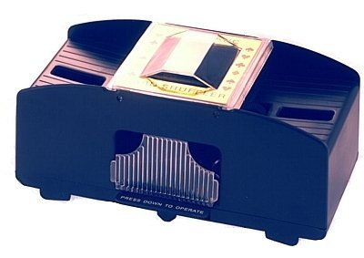 Lucky Ace Stylish Automatic 2 Pack Card Shuffler Test