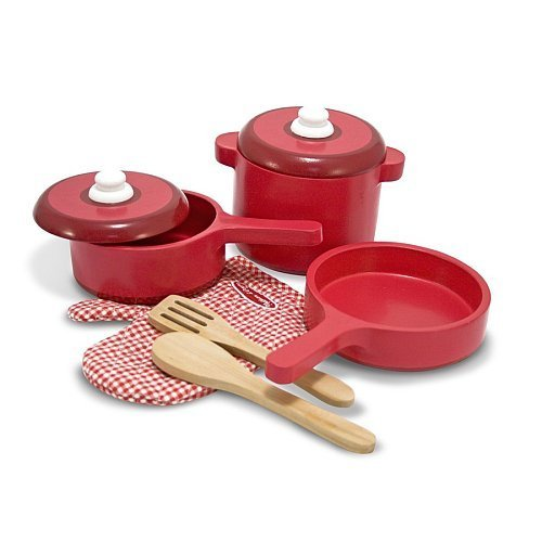 Melissa & Doug Wooden Kitchen Accessory Set by Home to Deals