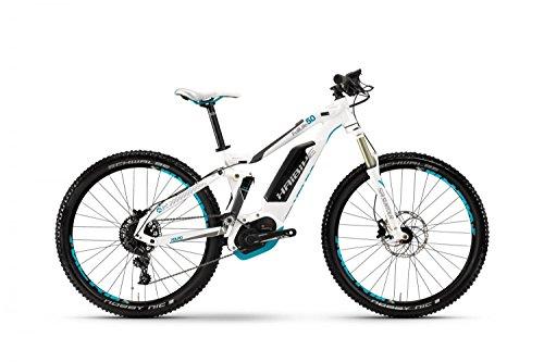 E-Bike Haibike XDURO FullLife 5.0 27,5' 11-G NX Bosch Performance CX, Rahmenhöhen:50, Farben:Weiß/Titan/Cyan