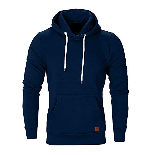 Innerternet Herren Basic Kapuzenpullover Sweatjacke Pullover Hoodie Sweatshirt - Maßgeschneiderte Wolle Pullover